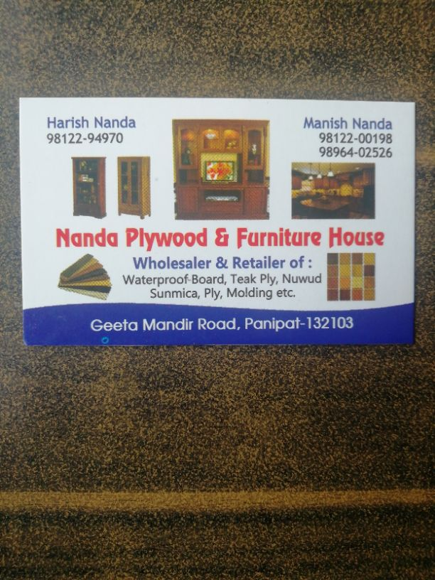 NANDA PLYWOOD AND FURNITURE HOUSE