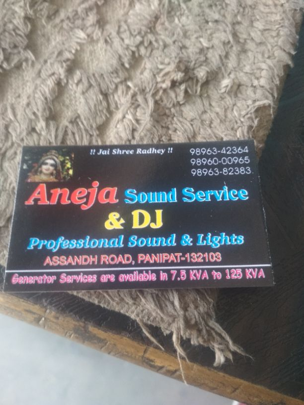 ANEJA SOUND SERVICE AND DJ