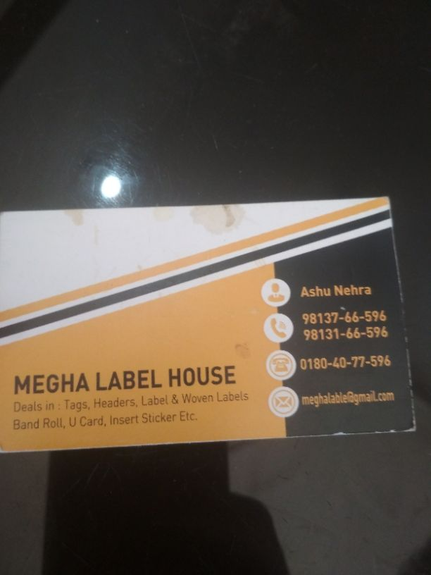 MEGHA LABEL HOUSE
