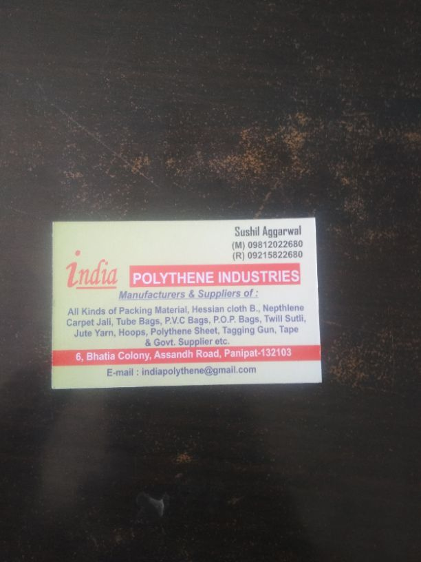 INDIA POLYTHENE INDUSTRIES