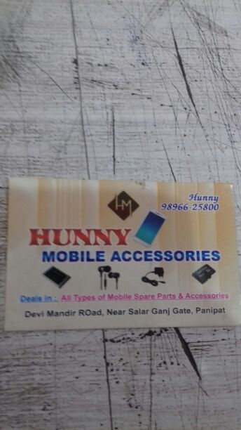 HUNNY MOBILE ACCESSORIES