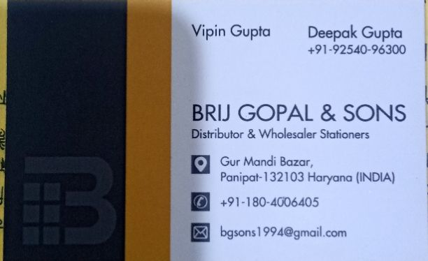 Brij Gopal And Sons