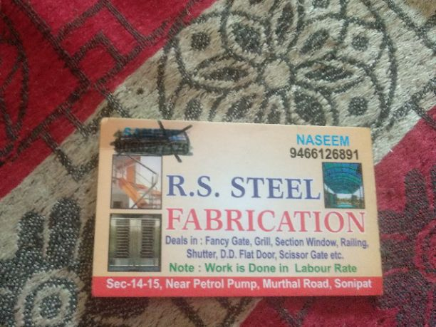 RS STEEL FABRICATION