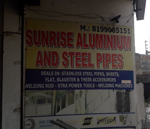 SUNRISE ALUMINIUM AND STEEL PIPES