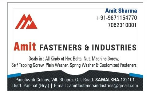 Amit Fasteners And Industries