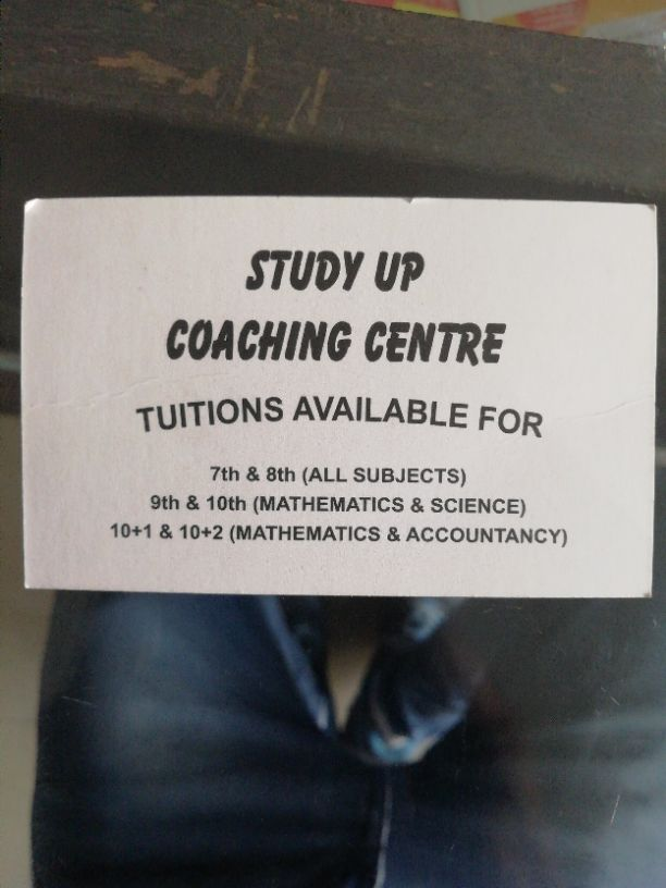 STUDY UP COACHING CENTER