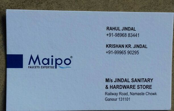 MAIPO FAUCETS EXPERTISE