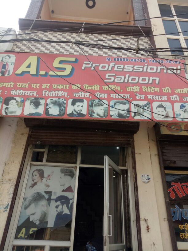 A S PROFESSIONAL SALOON