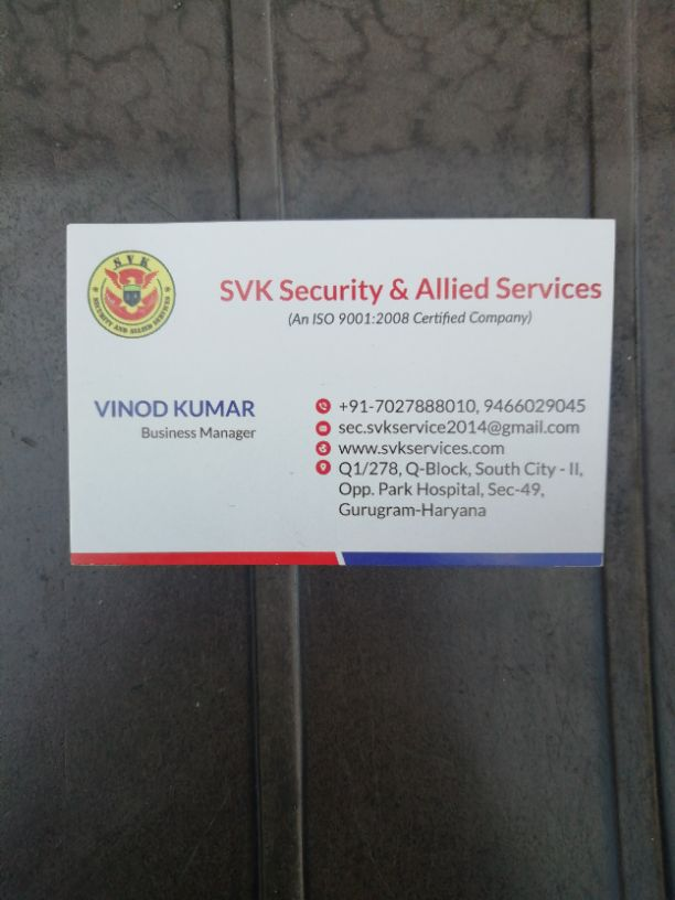 SVK Security &  Allied Services