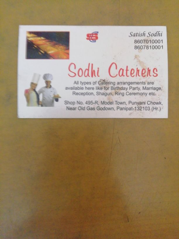 SODHI CATERERS