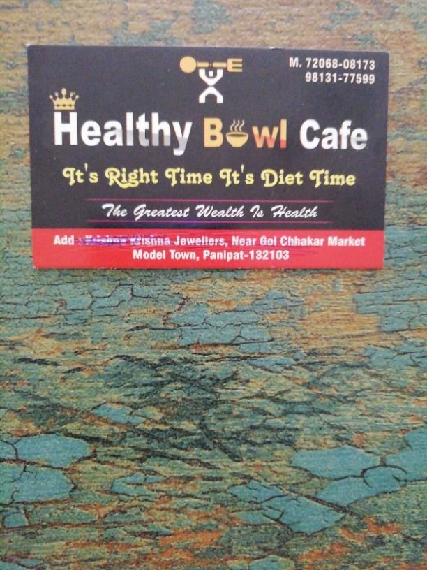 HEALTHY BOWL CAFE