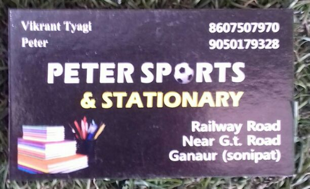 PETER SPORTS AND STATIONARY