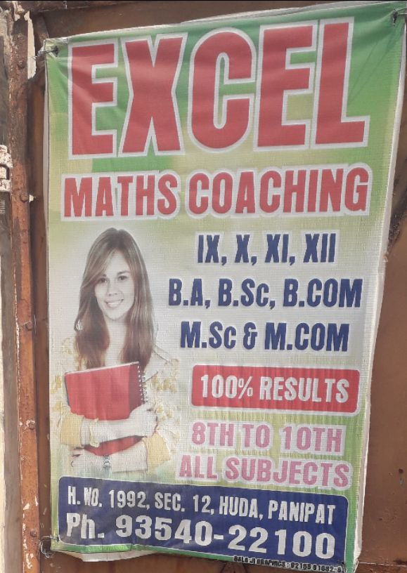 EXCEL MATHS COACHING