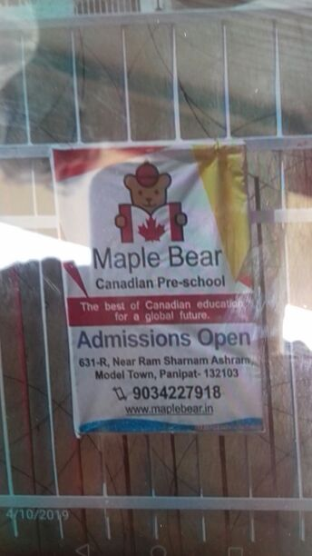 MAPLE BEAR CANADIAN PRE SCHOOL