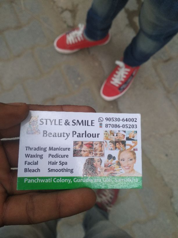 Style and Smile Beauty Parlour