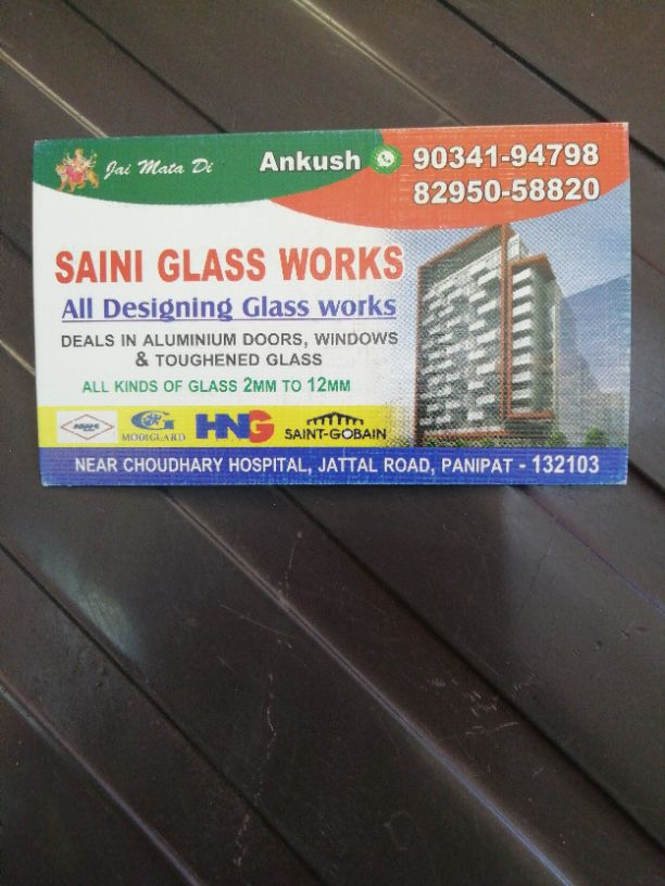 SAINI GLASS WORKS