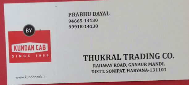 THUKRAL TRADING CO.