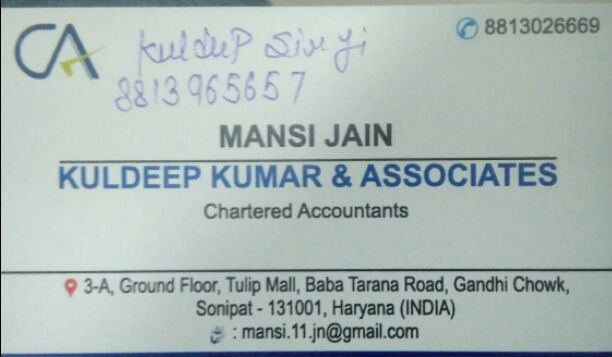 KULDEEP KUMAR & ASSOCIATE S