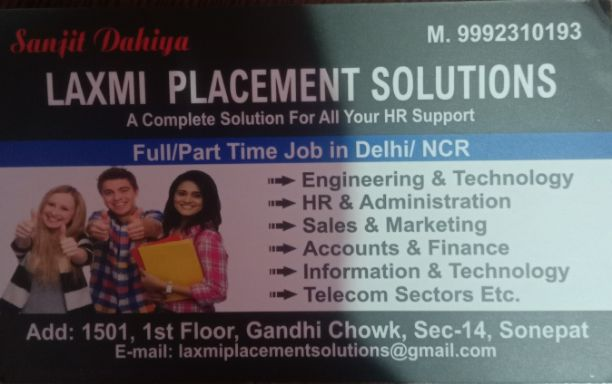 LAXMI PLACEMENT SOLUTIONS