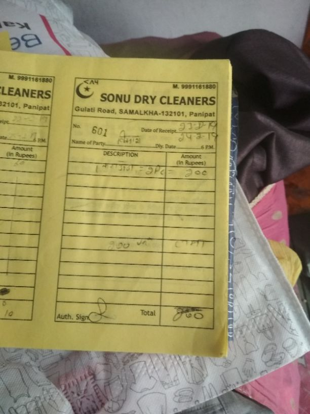 SONU DRYCLEANERS