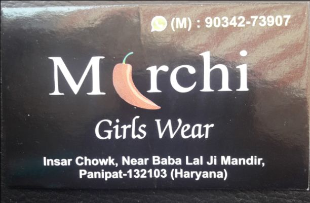 MIRCHI GIRLS WEAR