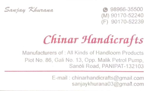 Chinar Handicrafts