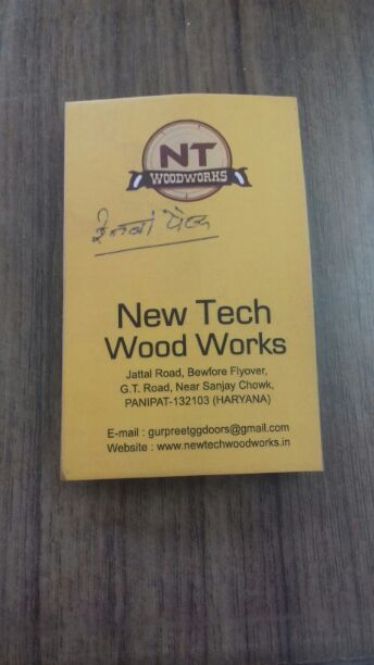 NEW TECH WOOD WORKS