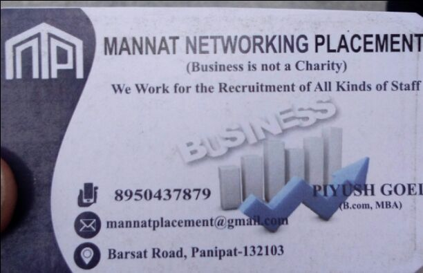 MANNAT NETWORKING PLACEMENT