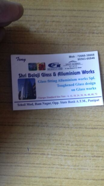 SHRI BALAJI GLASS AND ALUMINIUM WORKS