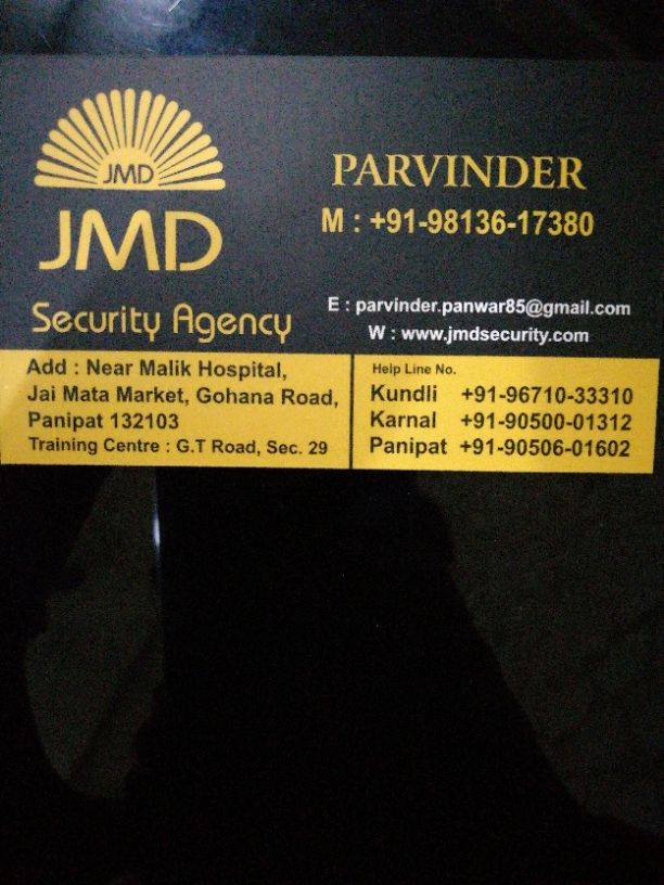 JMD SECURITY AGENCY