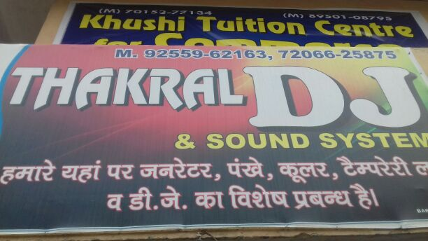 THAKRAL DJ AND SOUND SYSTEM