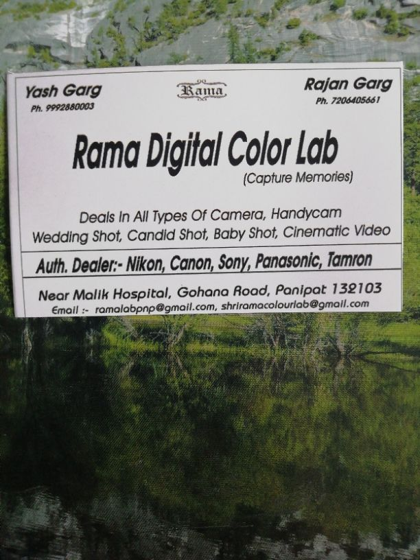 RAMA DIGITAL COLOR LAB