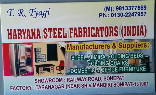 HARYANA STEEL FABRICATORS