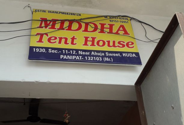 MIDDHA TENT HOUSE
