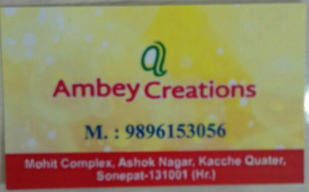 AMBEY CREATIONS