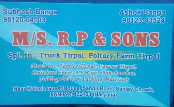 R P And Sons