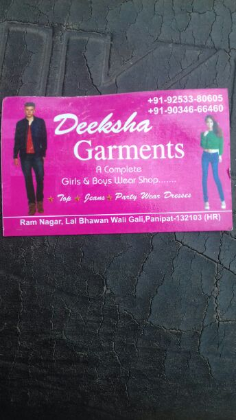 DIKSHA GARMENTS