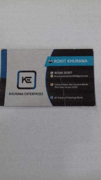 KHURANA ENTERPRISES