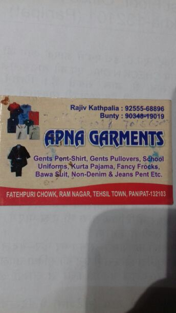 APNA GARMENTS