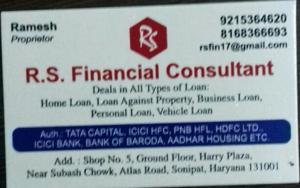 RS FINANCIAL CONSULTANT