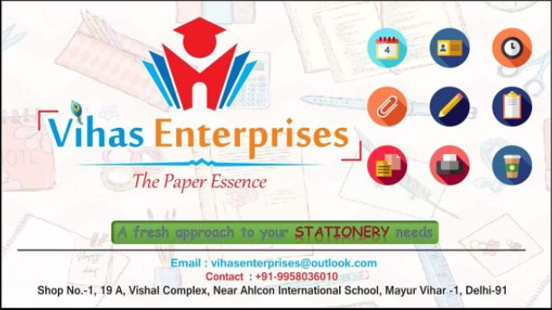 Vihas Stationery