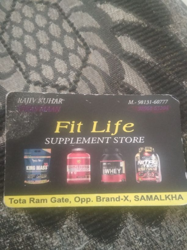 FIT LIFE SUPPLEMENT STORE