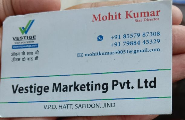 VESTIGE MARKETING PVT LTD