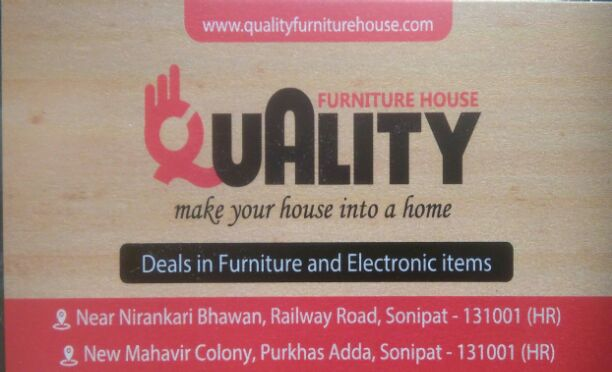 QUALITY FURNITURE HOUSE
