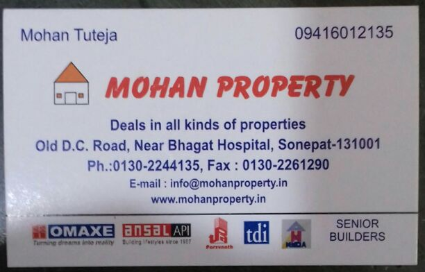 MOHAN PROPERTY