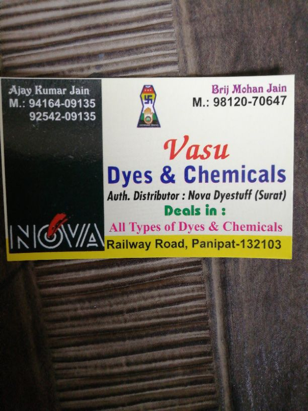 VASU DYES AND CHEMICALS