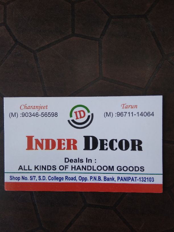 INDER DECOR