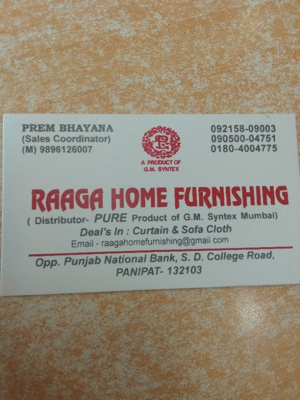 RAAGA HOME FURNISHING