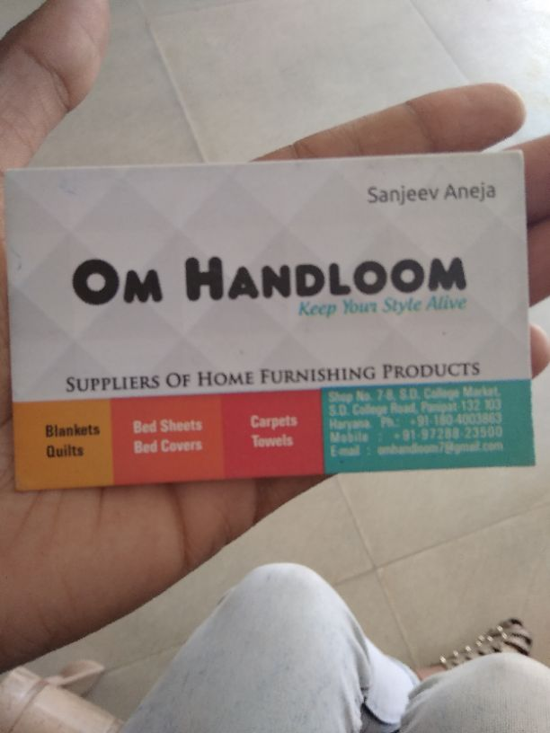 OM HANDLOOM KEEP YOUR STYLE ALIVE