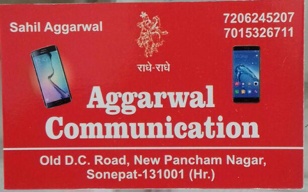AGGARWAL COMMUNICATION